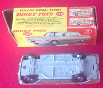 DINKY TOYS ORIGINAL BOXED 196 HOLDEN SPECIAL SEDAN